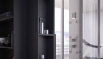 Kabiny prysznicowe: Panele prysznicowe