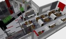 open space w biurowcu