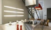 nowoczesna stalowa kuchnia