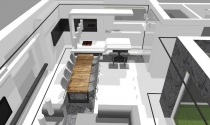 dom w stylu minimalistycznym