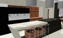 odwazna kuchnia z betonu